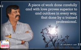 Quote by Dr. Aniruddha Joshi Aniruddha Bapu on love work in photo large size