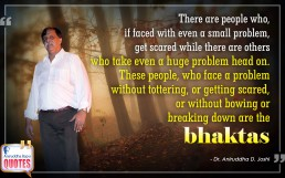 Quote by Dr. Aniruddha Joshi Aniruddha Bapu on Bhakta in photo large size