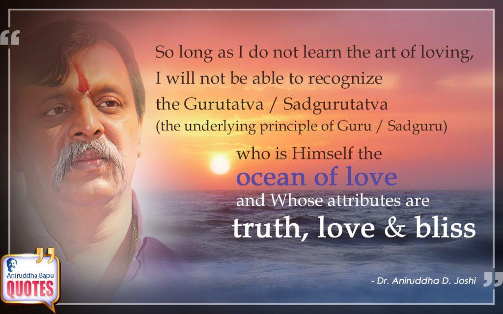 Quote by Dr. Aniruddha Joshi Aniruddha Bapu on Gurutatva Sadgurutatva in photo large size