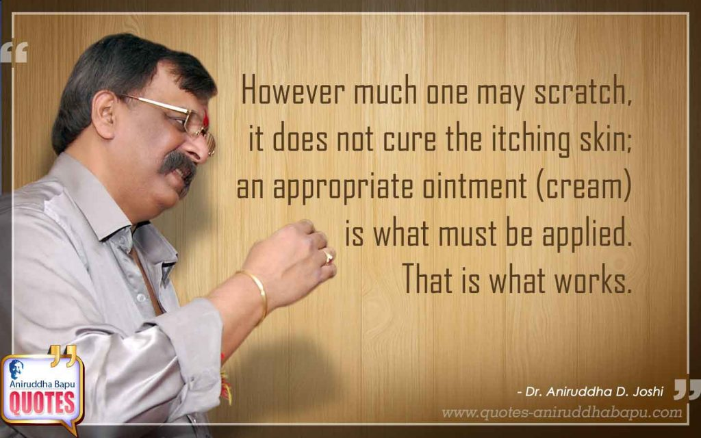 Quote by Dr. Aniruddha Joshi on Life Science in photo large size