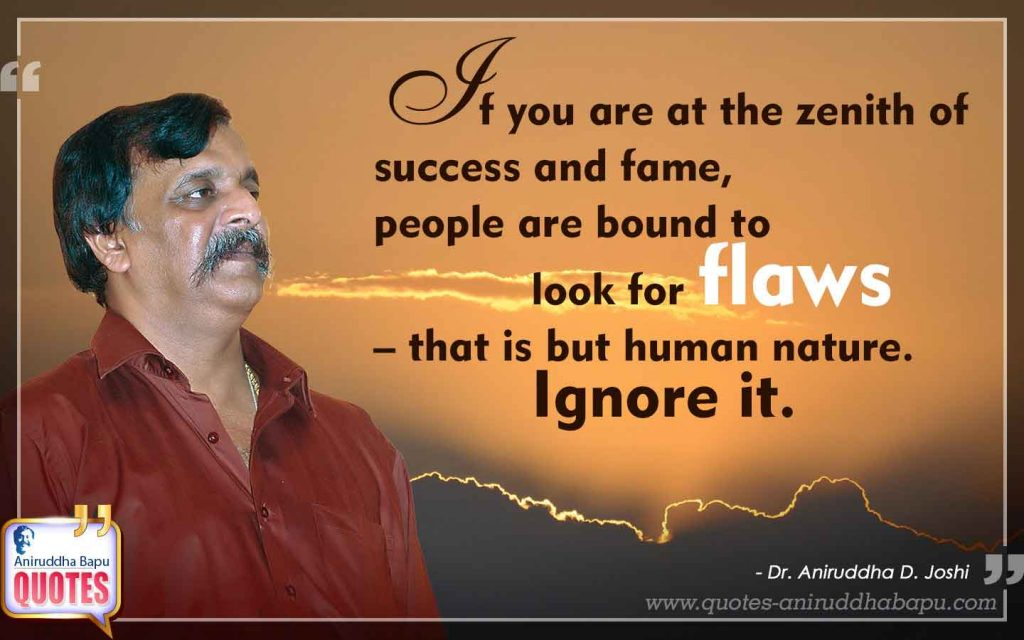Quote by Dr. Aniruddha Joshi on Success, fame in photo large size
