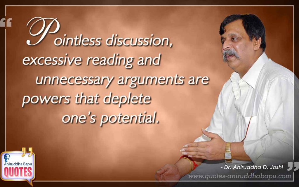 Quote by Dr. Aniruddha Joshi on Potential in photo large size