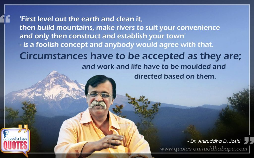 Quote by Dr. Aniruddha Joshi on work in photo large size